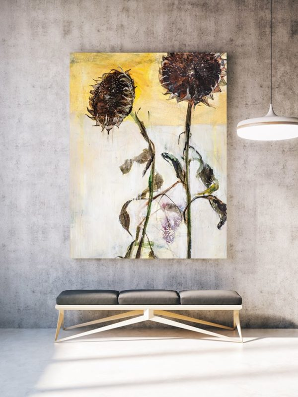 (Slovenčina) With you - acrylics on canvas